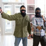 The less than funny bank heist