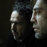Director Iñárritu and Javier Bardem