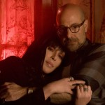 Cher and Tucci share a moment