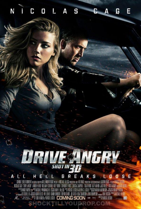Drive Angry (3D), Nicolas Cage