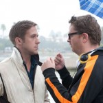 Director Refn with Gosling