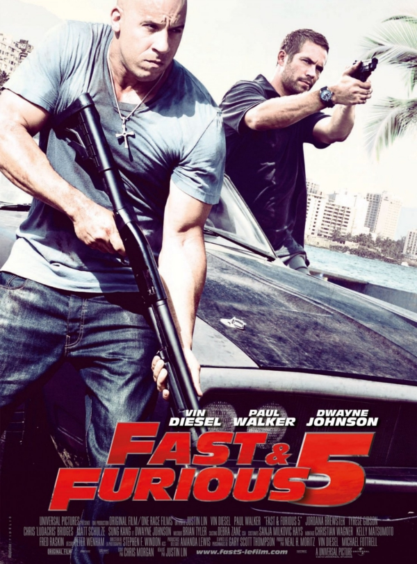 Fast and Furious 5, Vin Diesel