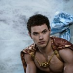 Hot film actor Kellan Lutz as Poseidon in the film Immortals