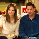 Katie Holmes and Adam Sandler in the movie Jack and Jill