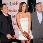 Stiller, Alba and De Niro at NY premiere