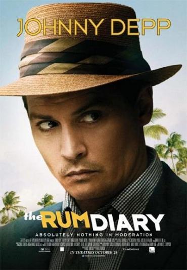 The Rum Diary, Johnny Depp