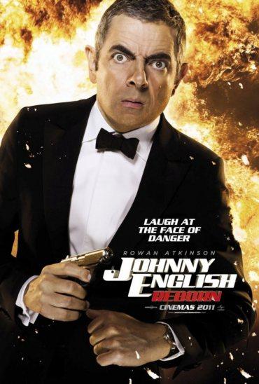 Johnny English Reborn, Rowan Atkinson