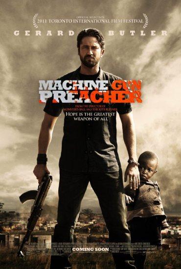 Machine Gun Preacher, Gerard Butler