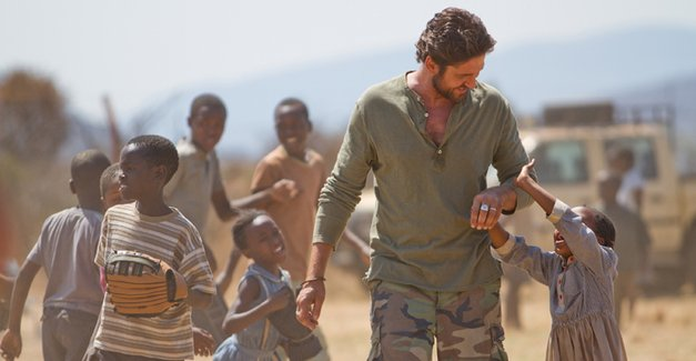 Machine Gun Preacher with Kids