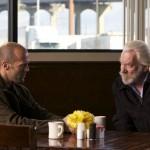 Statham and mentor Sutherland bonding