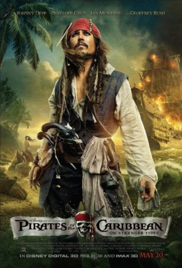 Pirates of the Caribbean, Johnny Depp