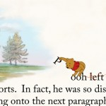 Interesting use of story book text