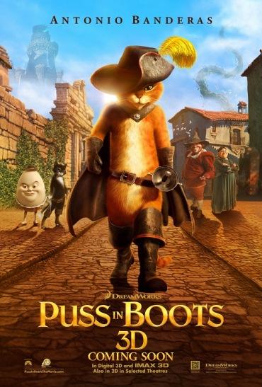 Puss In Boots, Antonio Banderas