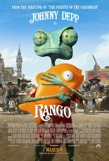 Rango, Johnny Depp