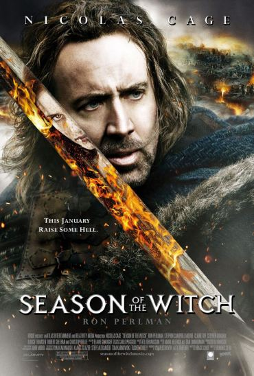 Season of the Witch, Nicolas Cage