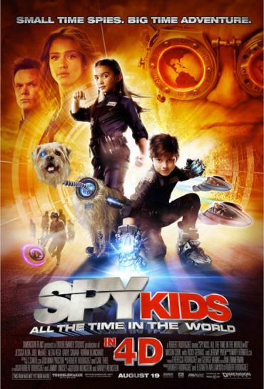 Spy Kids 4D, Jessica Alba