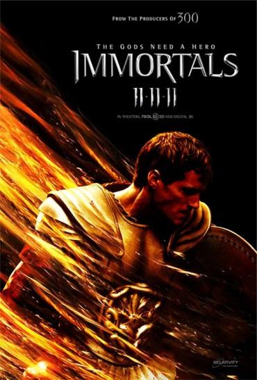 Immortals 3D, Henry Cavill
