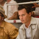 Risoli and Depp in the English movie The Rum Diary