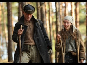 Ed Harris and Saoirse Ronan
