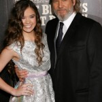 Hailee Steinfeld and Jeff Bridges at the NY premiere