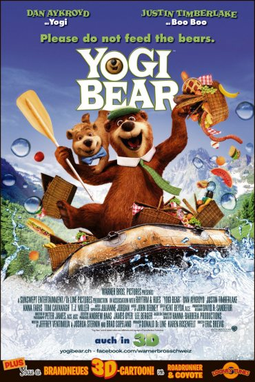Yogi Bear, Justin Timberlake