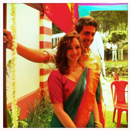 Gulshan Devaiah with Kallirroi