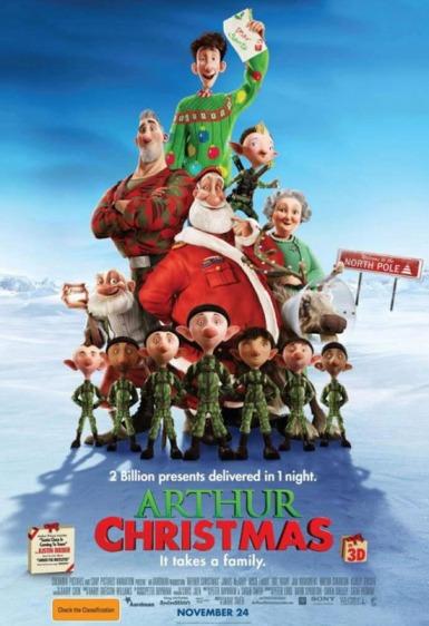 Arthur Christmas 3D, James McAvoy