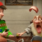 Dysfunctional family Claus in the movie Arthur Christmas