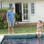 Father-daughter moment - The Descendants