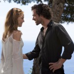 Actor Vanessa Paradis and her new Romeo