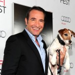 The handsome Jean Dujardin and Uggie
