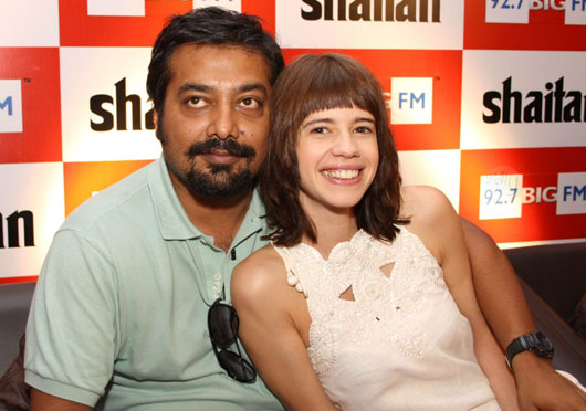 Anurag Kashyap and Kalki At Launch
