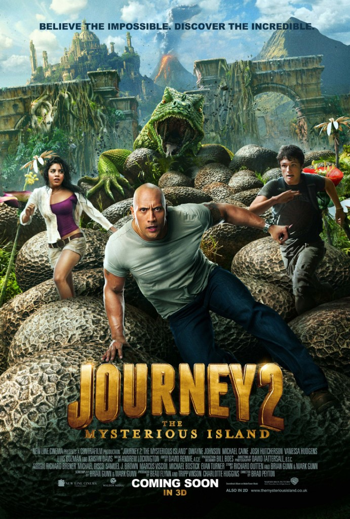 Journey 2, Dwayne Johnson