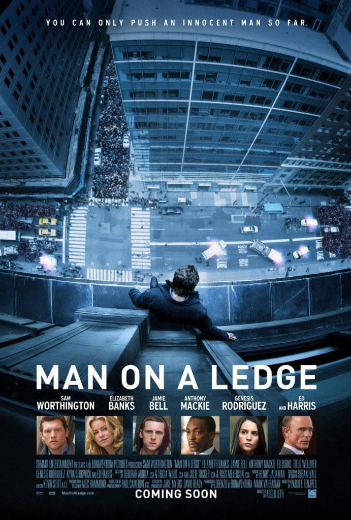 Man On A Ledge, Sam Worthington
