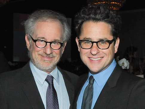 Steven Spielberg and JJ Abrams