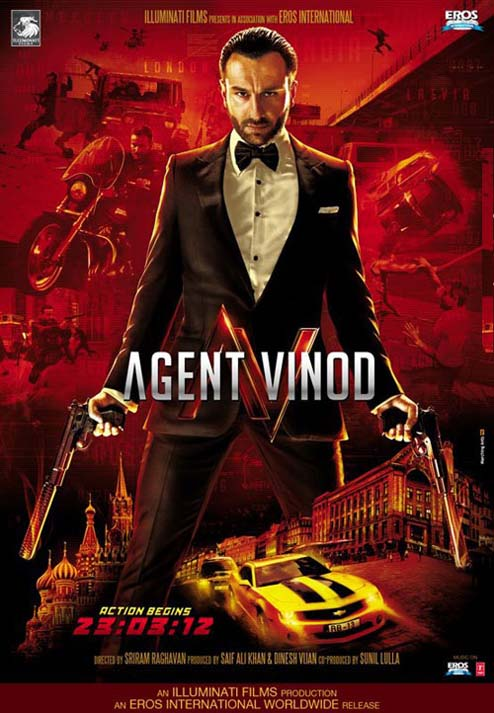 Agent Vinod, Saif Ali Khan