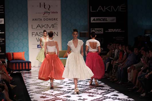 Anita Dongre Lakme Fashion Week