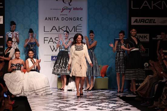 Anita Dongre at Lakme India Fashion Week