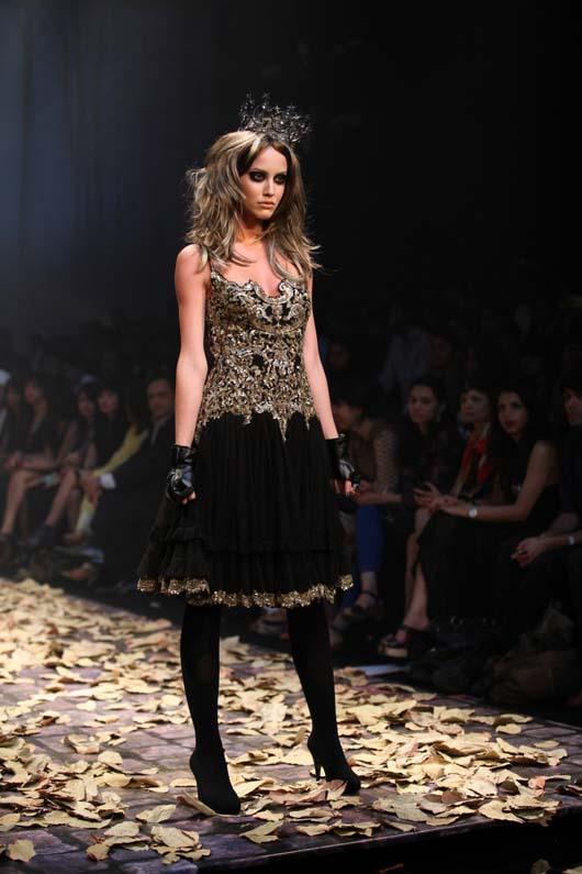 Zombie Princess at Lakme India Fashion Week