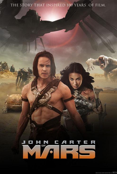John Carter of Mars, Taylor Kitsch