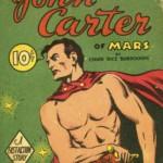 Cover art of original novel - John Carter of Mars