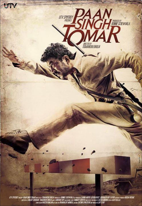 Paan Singh Tomar Movie, Irrfan Khan