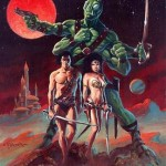 Artwork for early comics