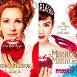 Two posters for Mirror Mirror