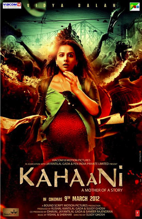 Kahaani Hindi Movie, Vidya Balan