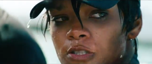 Rihanna Gets All Wet and Wild