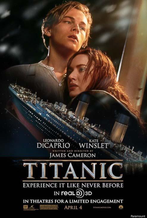Titanic in 3D, Leonardo DiCaprio