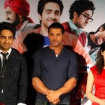 Producer John Abraham (centre) - Vicky Donor