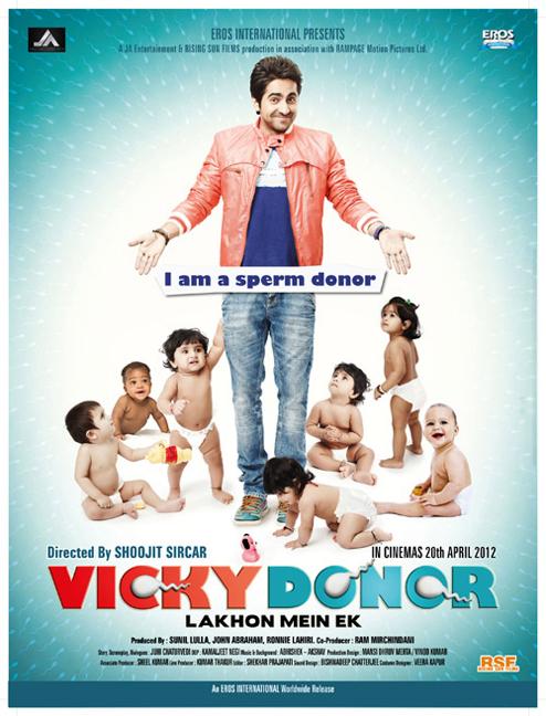 Vicky Donor, Ayushmann Khurana