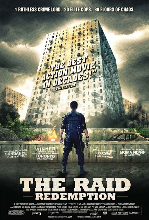 The Raid: Redemption, Iko Uwais